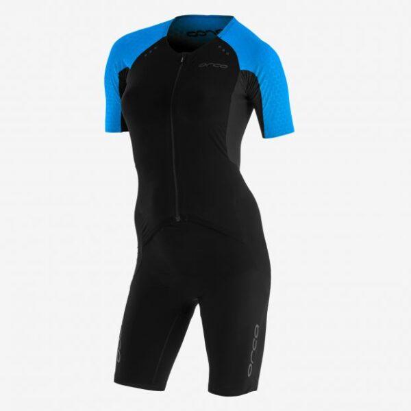 Women RS1 Aero Kona Race Suit Black/Turquoise