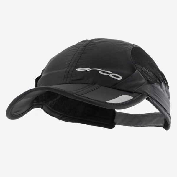 Foldbable Unisex Cap – Black