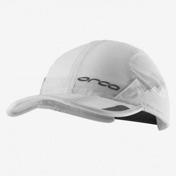 Foldbable Unisex Cap – White