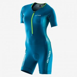 Core Aero Race Suit Women Turquoise