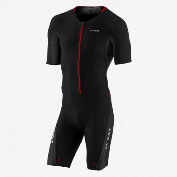 226 Aero Race Suit Men Black Red
