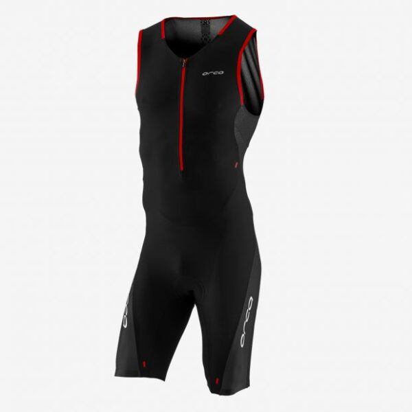 226 Perform Race Suit Men Black Orange