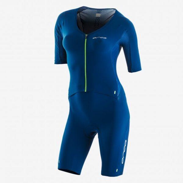 226 Perform Aero Race Suit Women Blue
