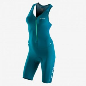 226 Perform Race Suit Women Green Navy