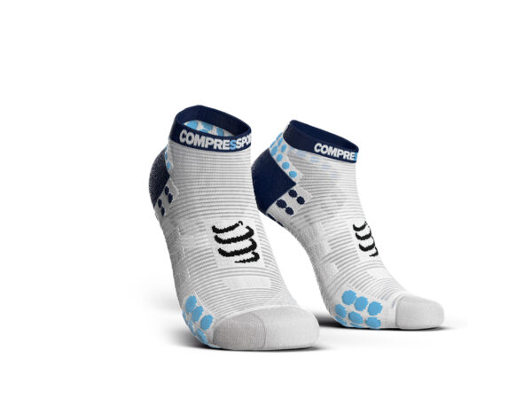 Pro racing socks v3.0 Run low white blue