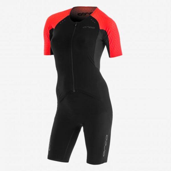 Women RS1 Aero Kona Race Suit Black/Corail