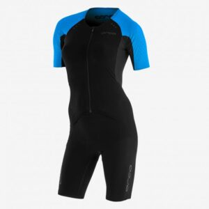 Women RS1 Aero Kona Race Suit Black/Turquoise